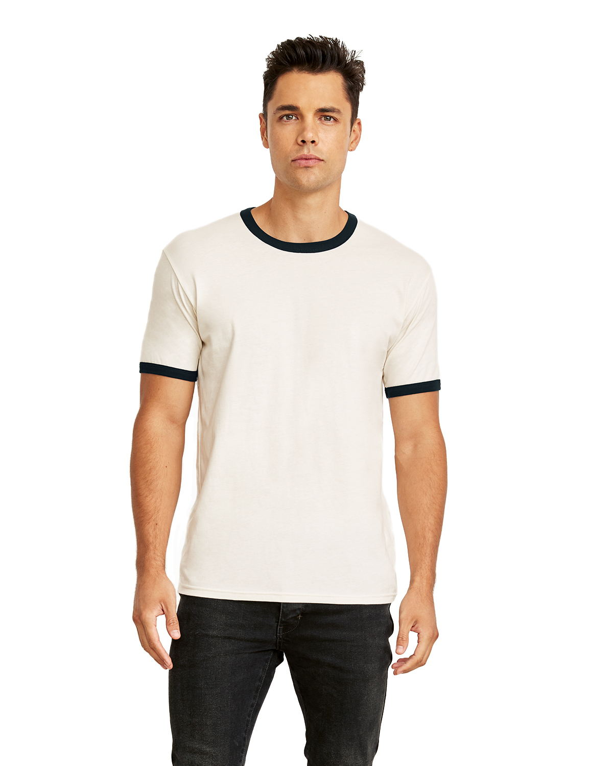 Next Level 3604 - Unisex Fine Jersey Ringer Tee