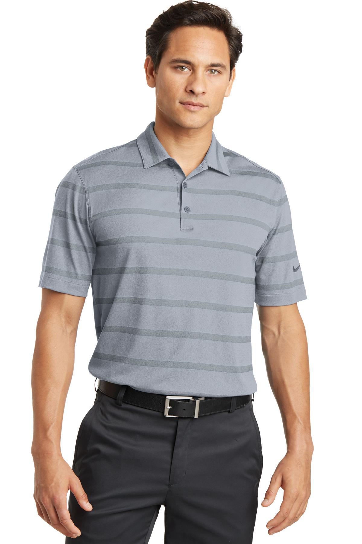 Nike Golf 677786 - Dri-FIT Fade Stripe Polo
