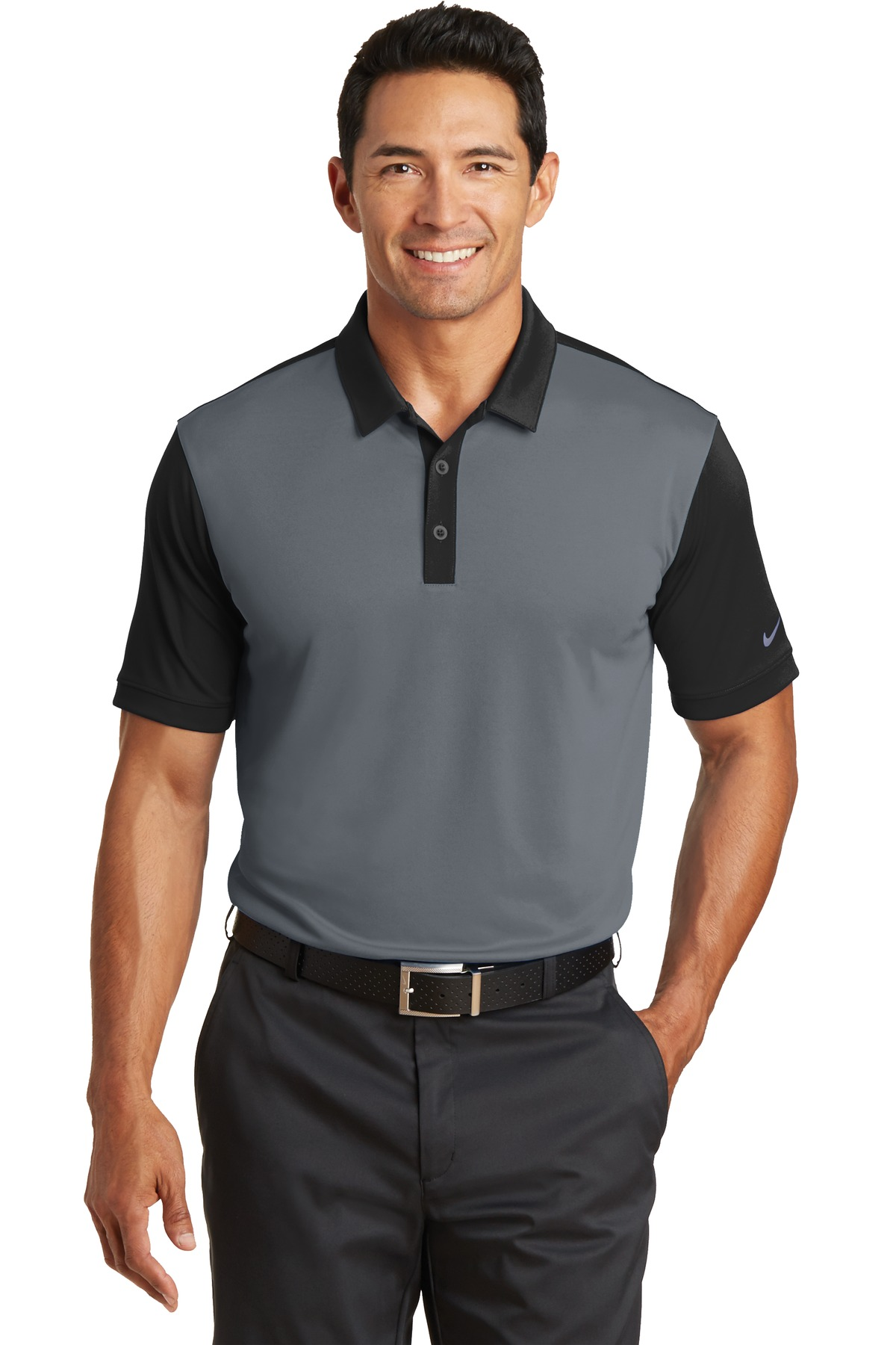 Nike Golf 746101 - Dri-FIT Colorblock Icon Polo