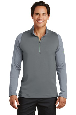 Nike Golf 779795-Dri-FIT Stretch Half Zip Cover Up