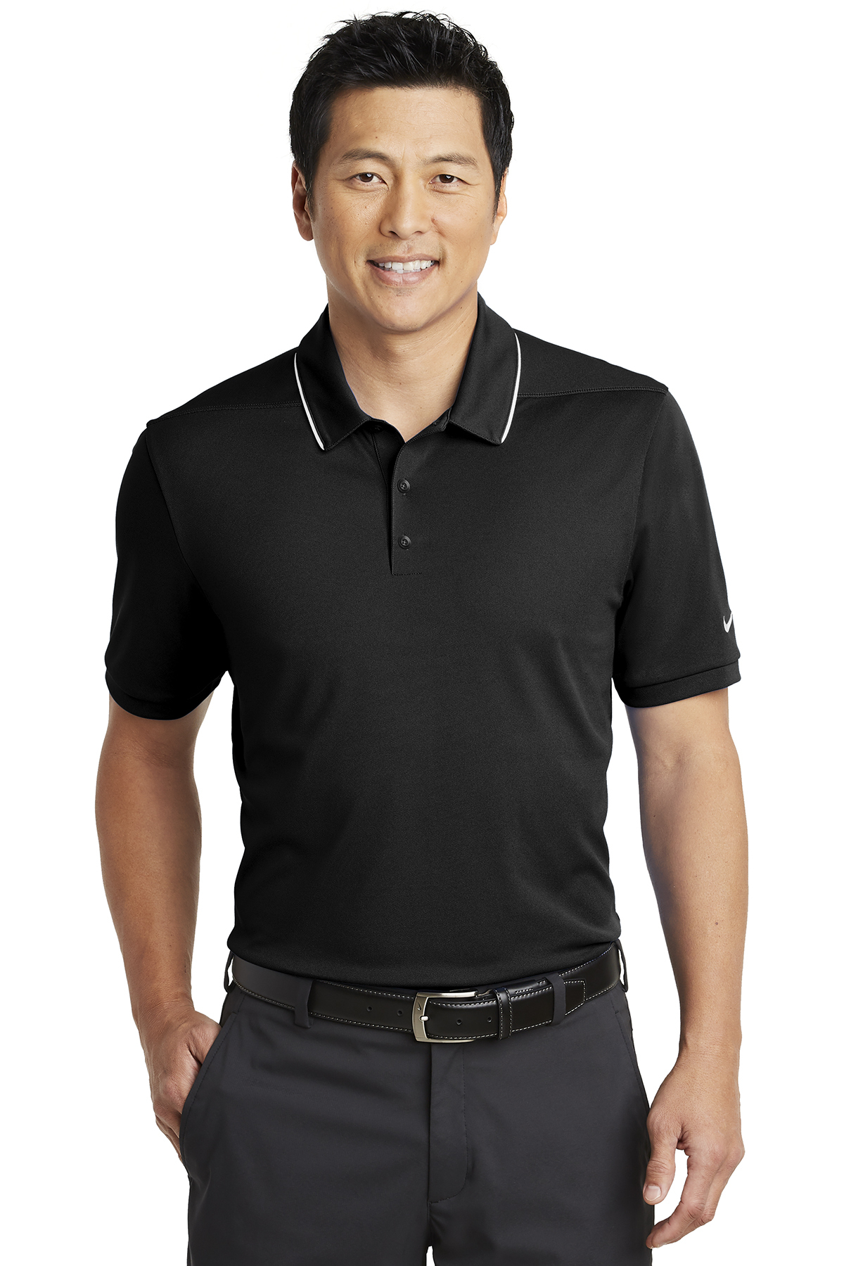 Nike Golf NKAA1849 - Nike Dri-FIT Edge Tipped Polo