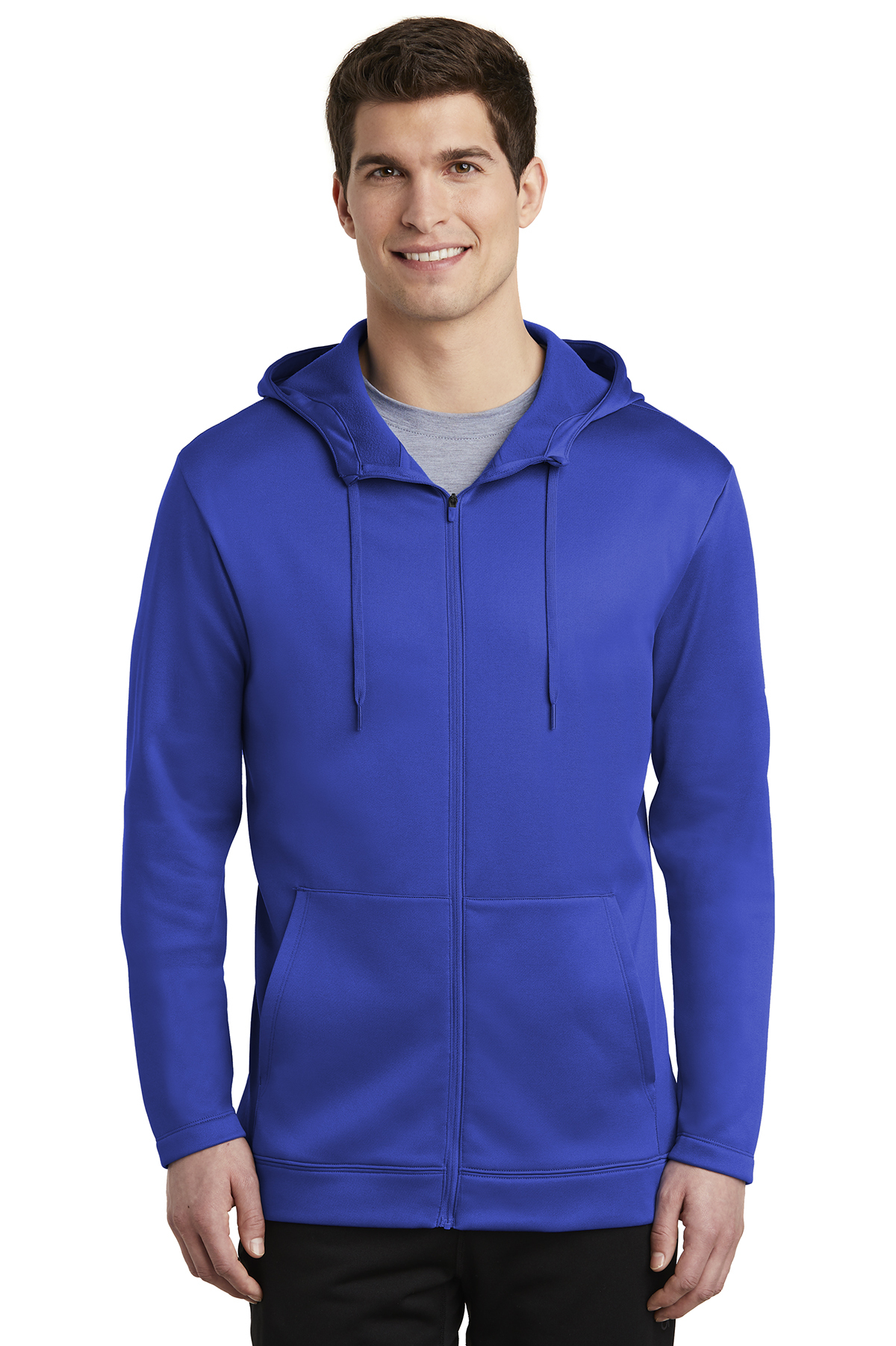 Nike Golf NKAH6259 - Men's Therma-FIT Full Zip Fleece ...