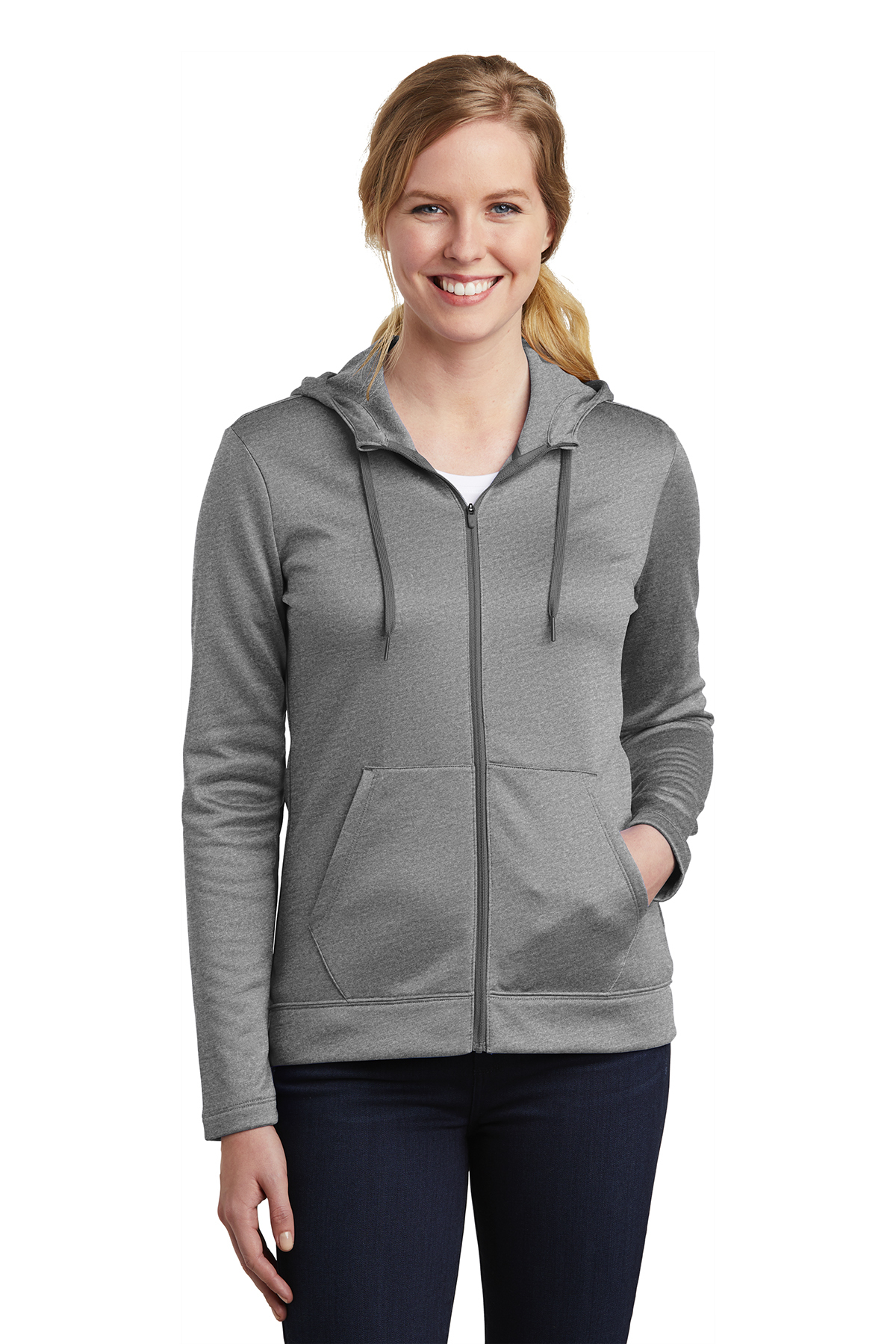 Nike Golf NKAH6264 - Ladies Therma-FIT Full Zip Fleece Hoodie
