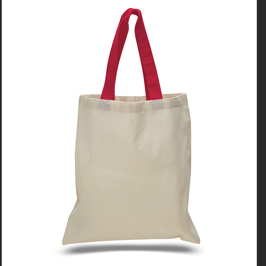 OAD 105 - Promotional Contrast Handles Tote