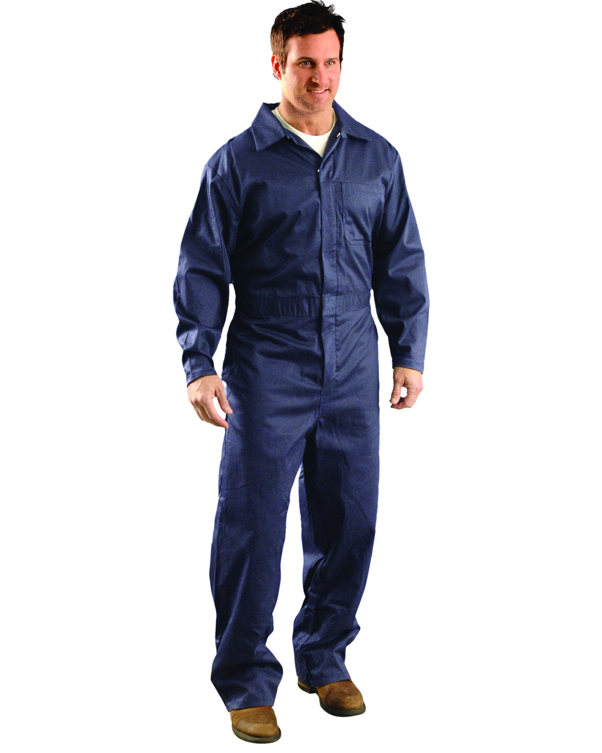 OccuNomix G906 - Men's Value Cotton Flame Resistant HCR 1 Coverall