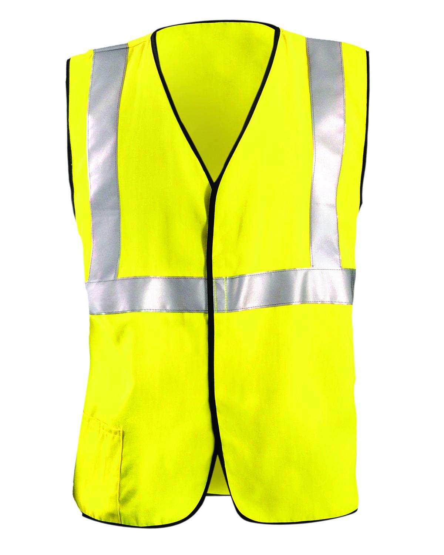OccuNomix LUXHRC2 - Men's Classic Flame Resistant HRC2 Solid Vest