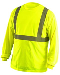 OccuNomix LUXLSET - Men's Classic Long Sleeve Wicking Birdseye Shirt
