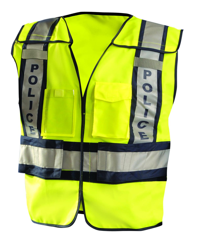OccuNomix LUXPSP - Men's Premium Solid Public Safety Police Vest