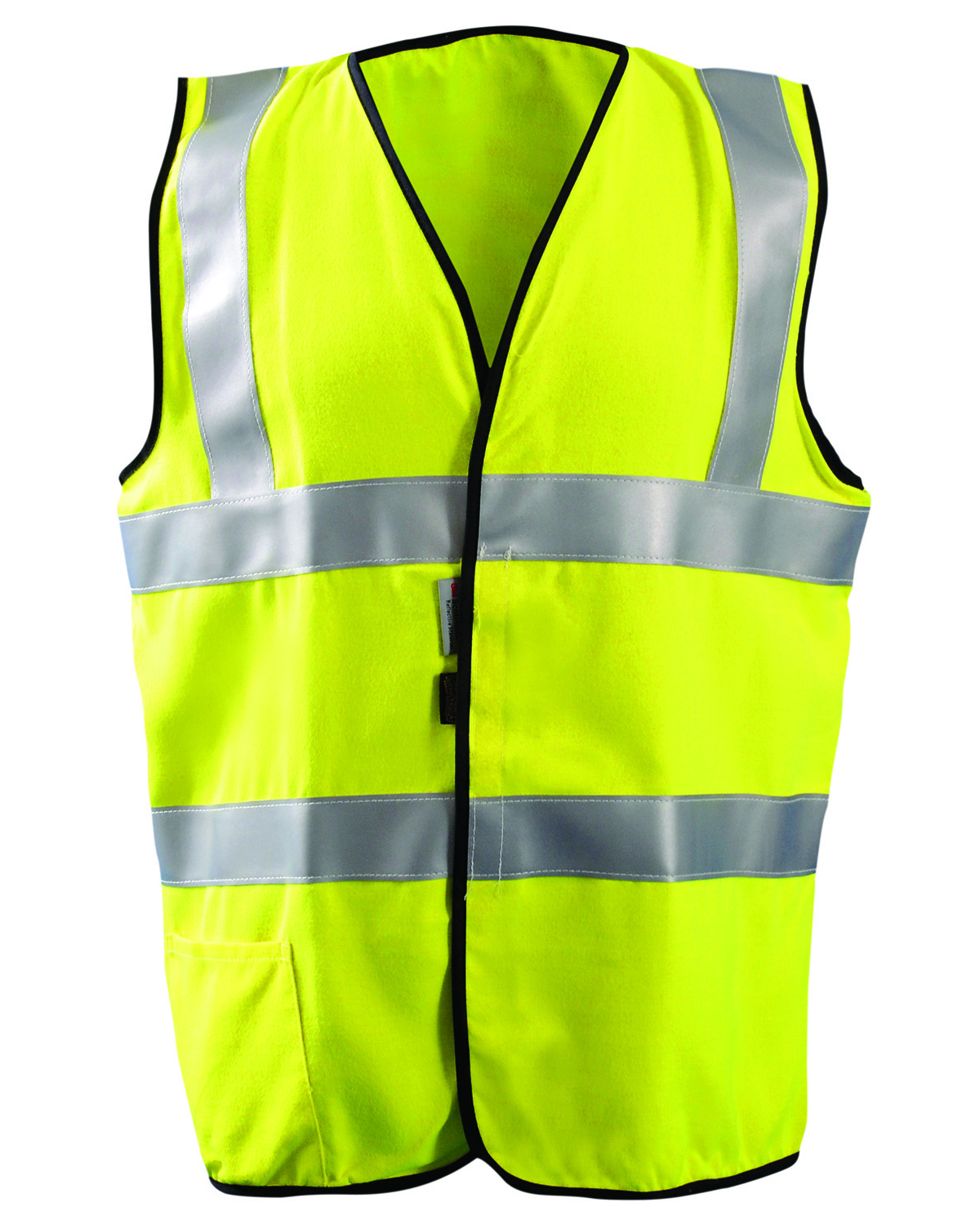 OccuNomix LUXSSFG - Men's High Visibility Classic Solid Standard Safety Vest