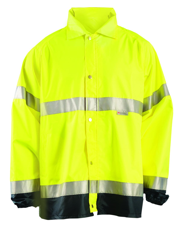 OccuNomix LUXTJR - Men's Premium Flame Resistant Rain Jacket