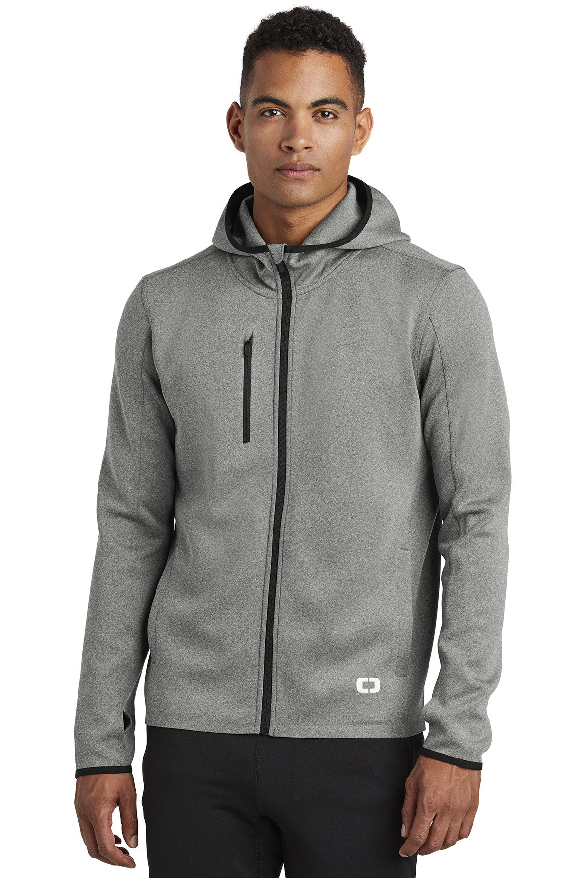 OGIO ENDURANCE OE728 - Men's Stealth Full-Zip Jacket