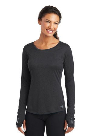 OGIO Ladies LOE321 - Long Sleeve Pulse Crew