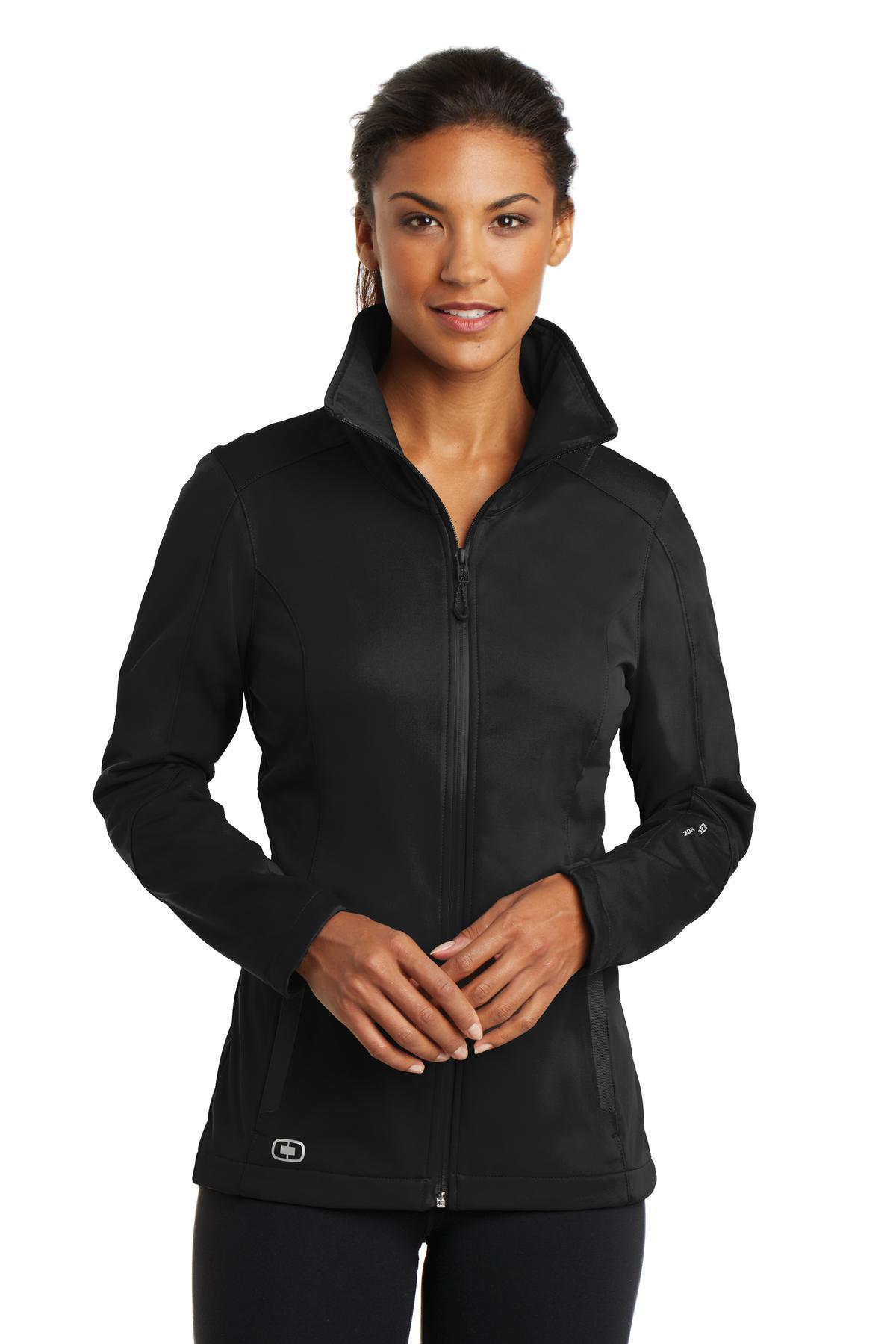 OGIO® LOE720 ENDURANCE系列 女士防风保暖修身软壳外套