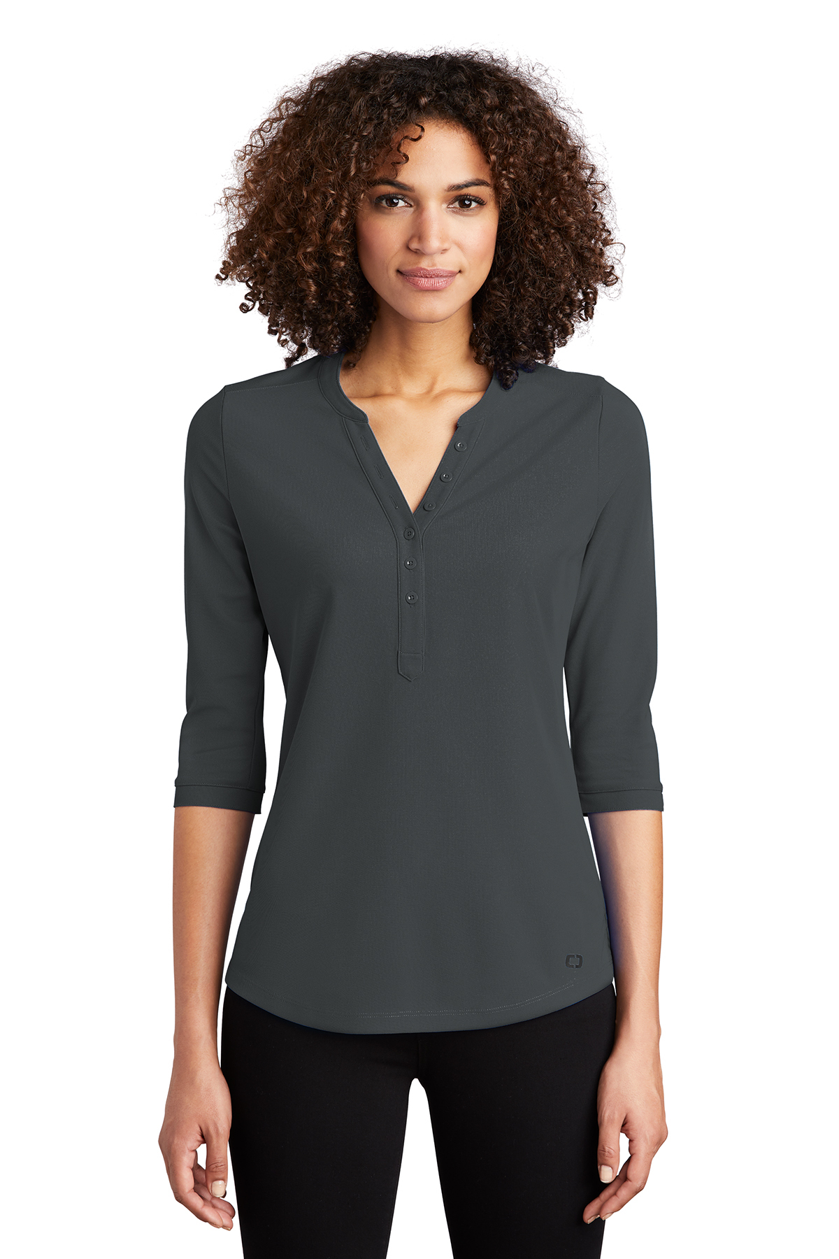 OGIO LOG104 - Ladies Jewel Henley