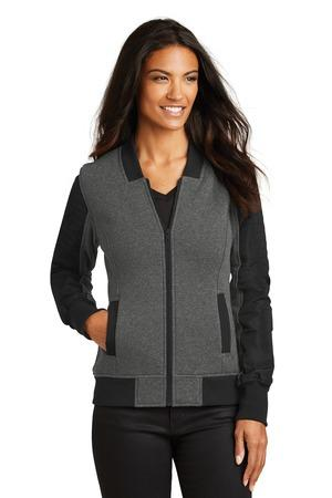 OGIO®LOG506 - Ladies Crossbar Blacktop Heather Jacket