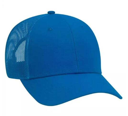 OTTO CAP - 83-1273 6 Panel Low Profile Mesh Back Trucker Hat