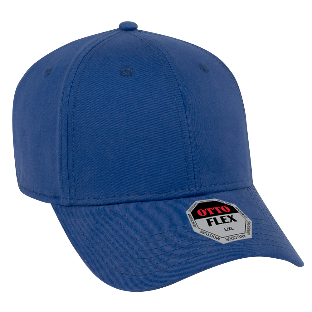 OTTO Cap 11-1167 - OTTO Flex 6-Panel Brushed Stretchable ...