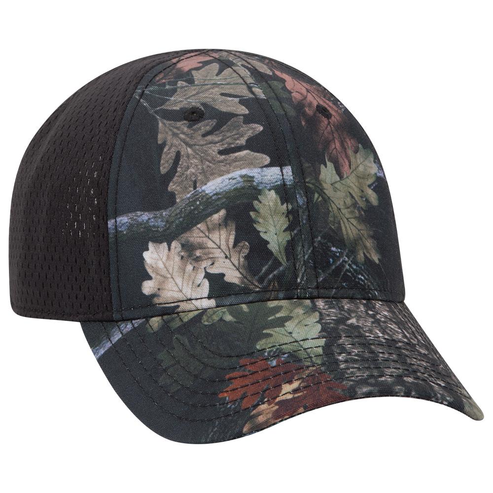 Ottocap 103-1243 Low Profile Polyester Canvas Pro Mesh Back Cap