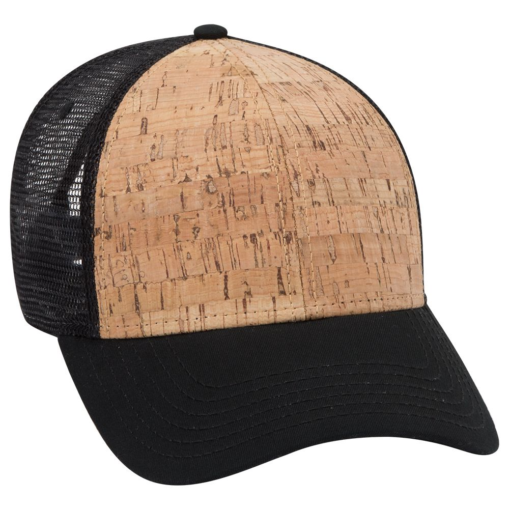 Ottocap 83-1212 - 6-Panel Cork Mesh Back Cap