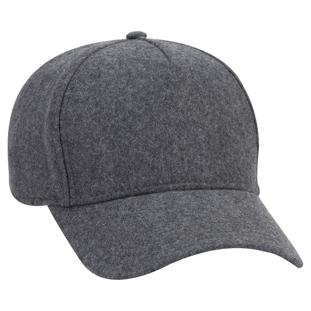 Ottocap 99-1242 - 5 Panel Low Profile Melton Wool Cap