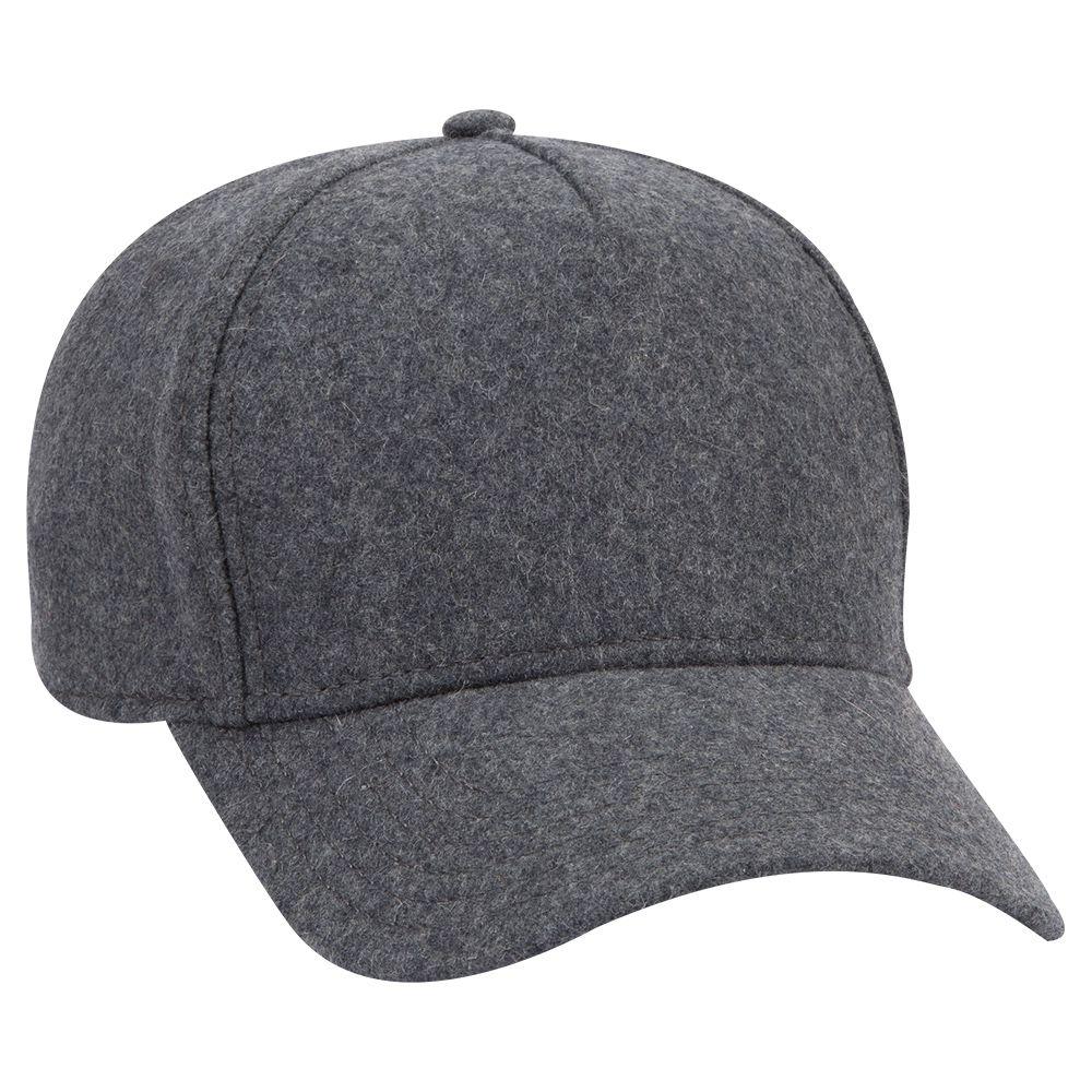 Ottocap 99-1242 - 5 Panel Low Profile Melton Wool Cap