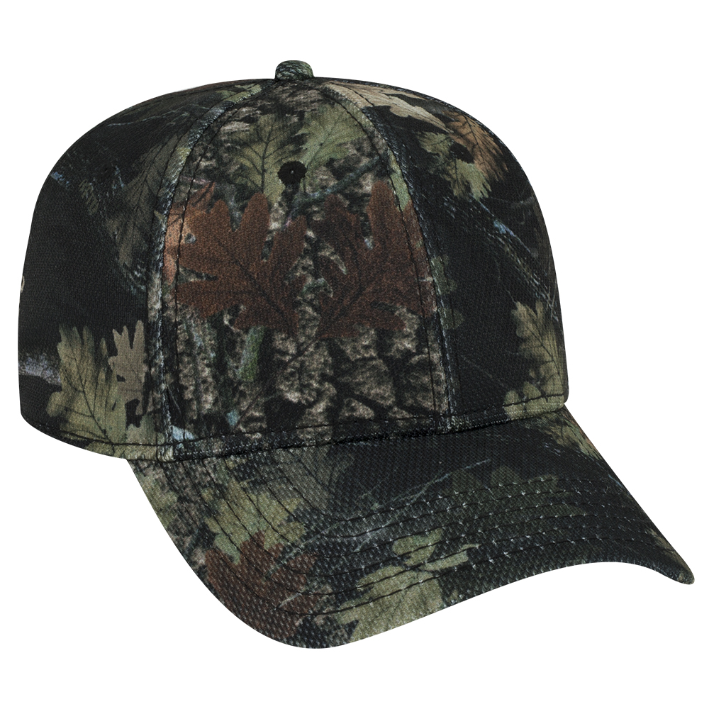 OTTO Cap 78-1226 - Camouflage 6 Panel Low Profile Polyester Pique Mesh Baseball Cap