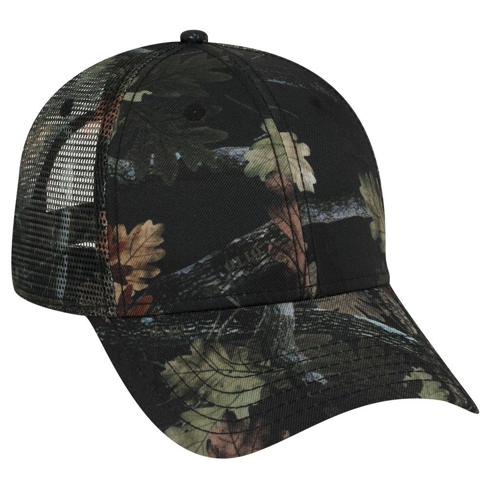 OTTO Cap 105-1223 - Camouflage Superior Polyester Twill ...