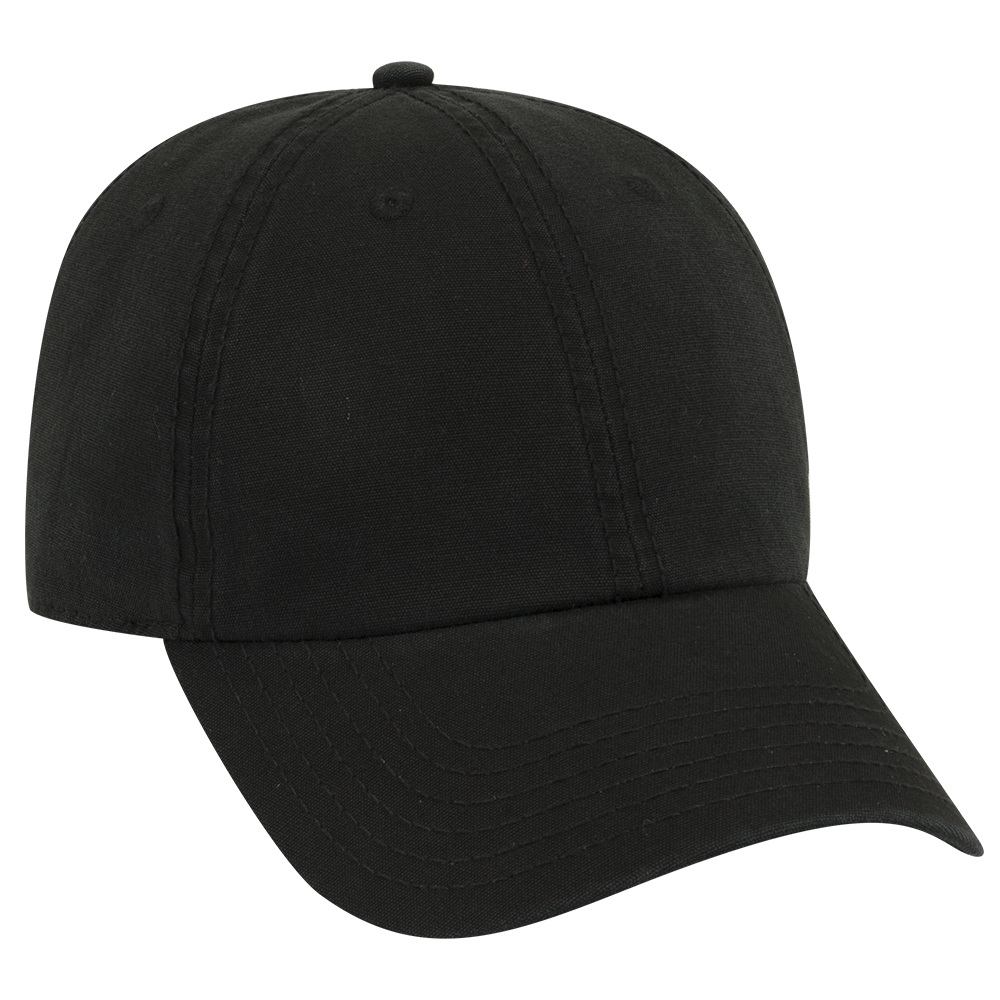 OTTOCAP 18-1221 GARMENT WASHED COTTON CANVAS LOW PROFILE STYLE CAPS