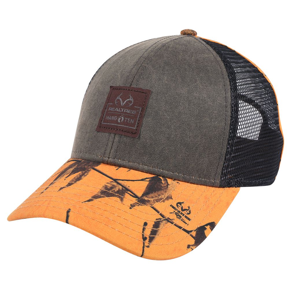 Ottocap 522-257 Realtree Hang Ten Waved Canvas Trucker ...