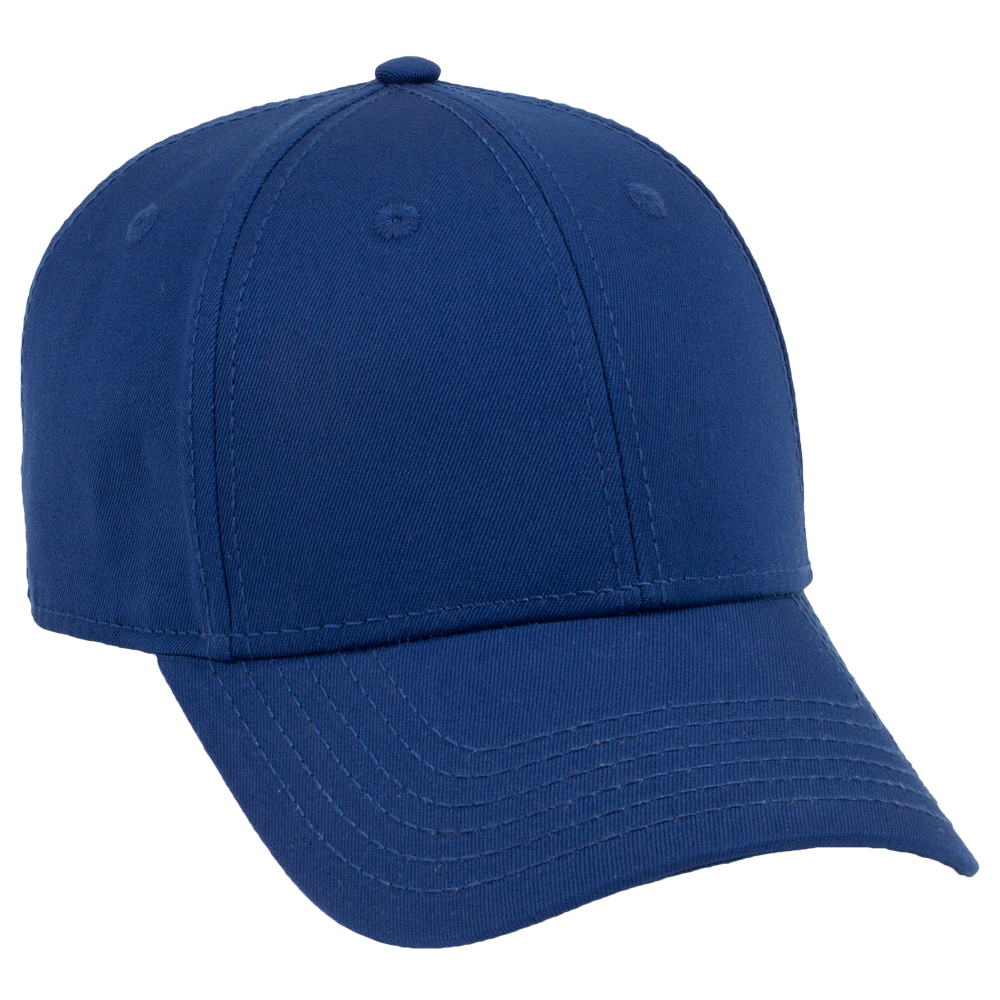 OTTO Cap 19-1203 - Superior Cotton Twill 6-Panel Low Profile Baseball Cap
