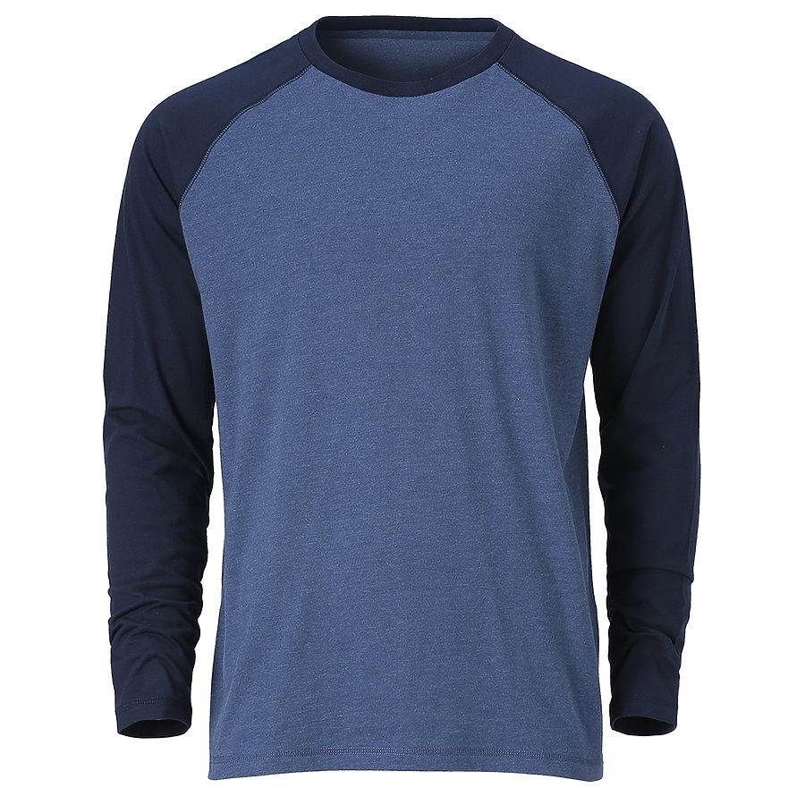 Ouray 23024 - Men's Baseball Long Sleeve Tee