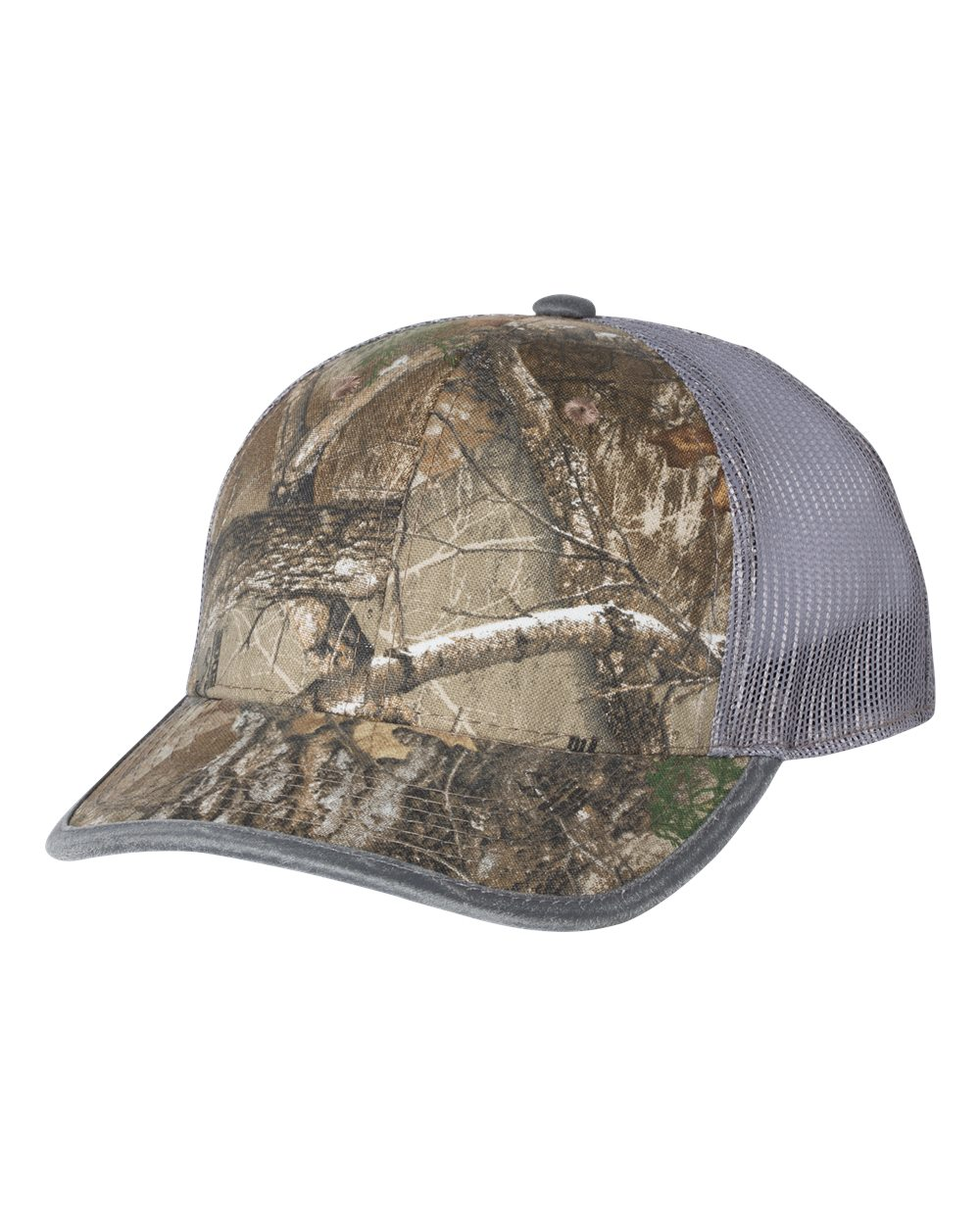 Outdoor Cap CBW100M - Weathered Bound Visor Trucker Cap