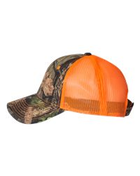Outdoor Cap CNM100M - Camo Cap with Neon Mesh Back
