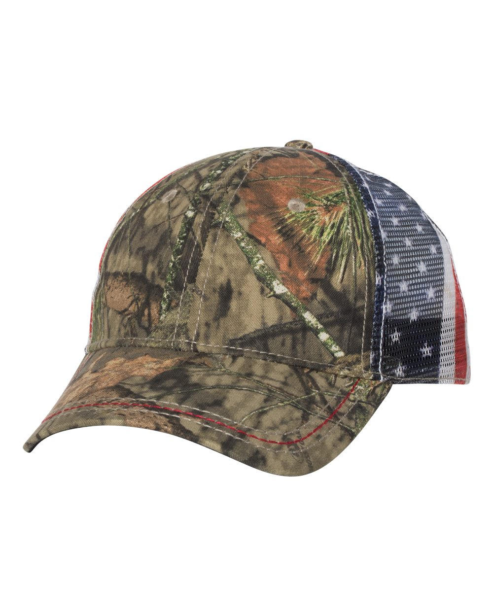 Outdoor Cap CWF400M - American Flag Mesh Back Camo Cap