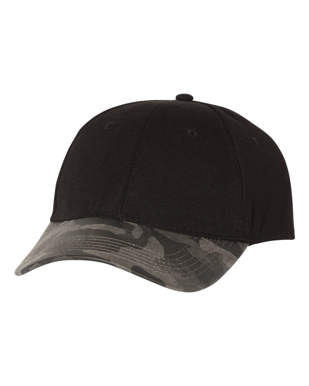 Outdoor Cap GHP100 - Canvas Crown with Weathered Camo Visor