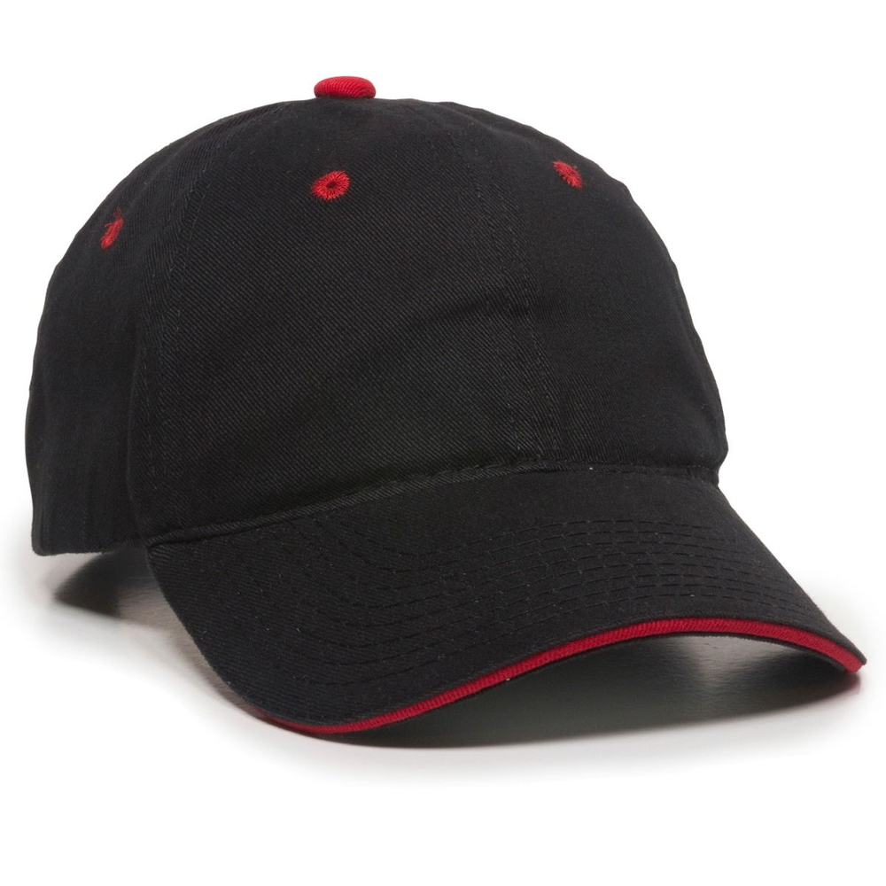 Outdoor Cap GL-645 - Unstructured Brushed Twill Sandwich Cap