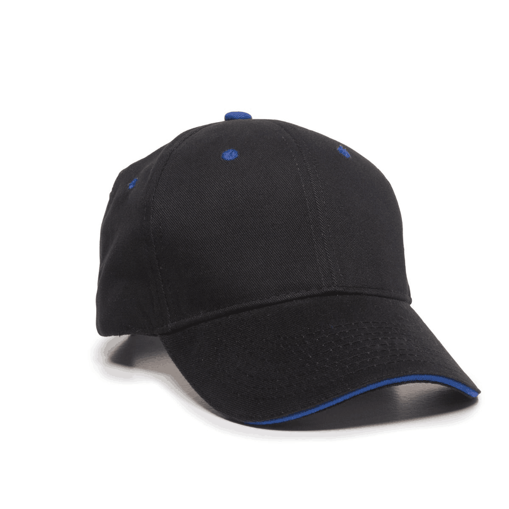 Outdoor Cap GL-845 - Structured Brushed Twill Sandwich ...