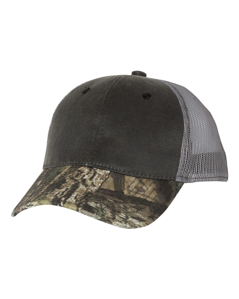 Outdoor Cap HPC500M - Distressed Camo Mesh-Back Cap