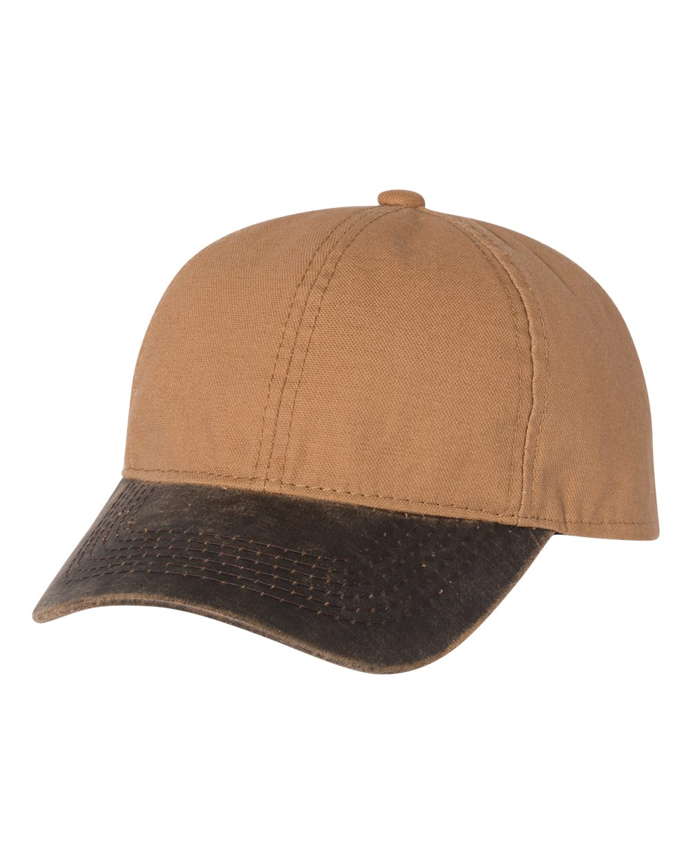 Outdoor Cap HPK100 - Canvas Cap with Weathered Cotton Visor