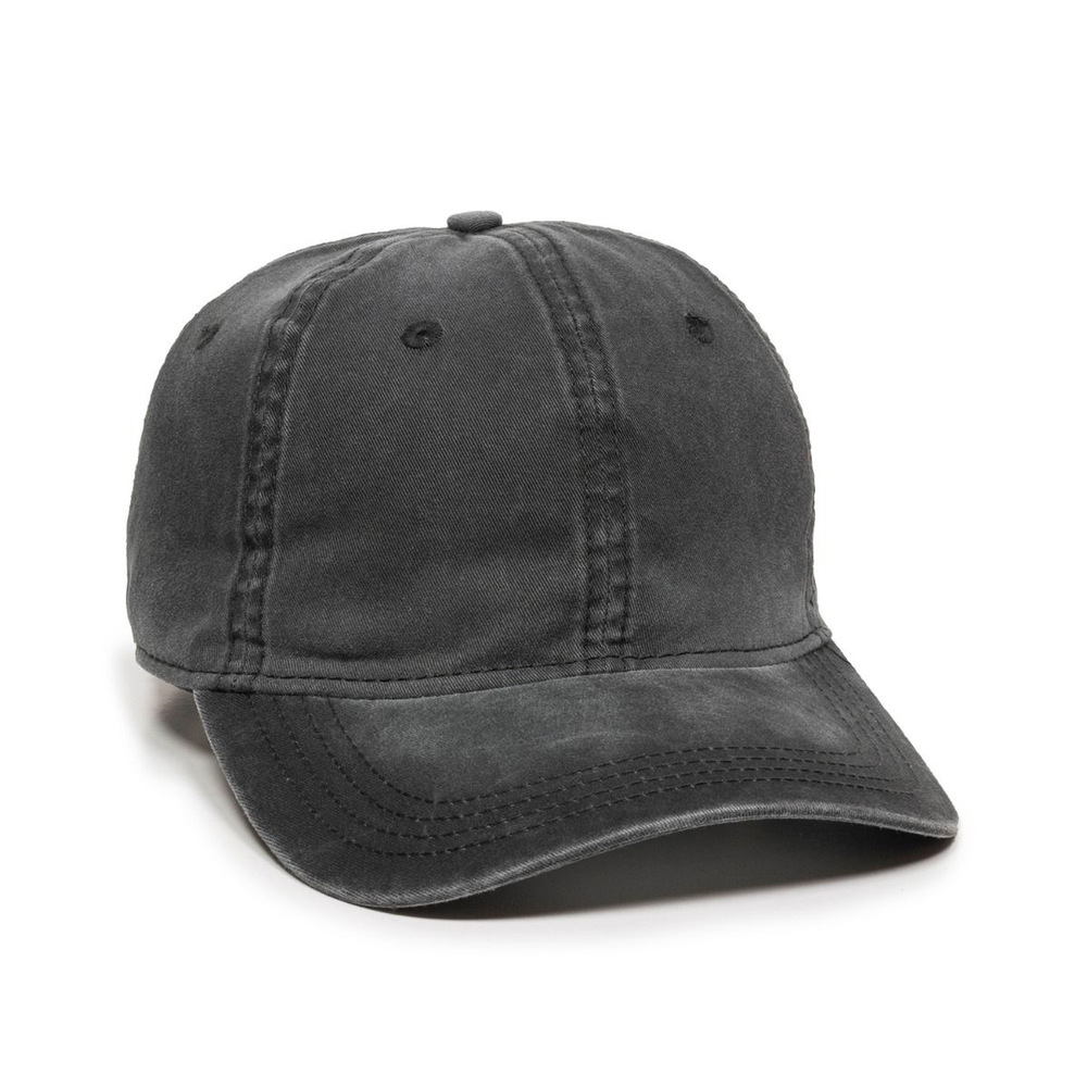 Outdoor Cap PDT-750 - Pigment Dyed Twill Solid Cap