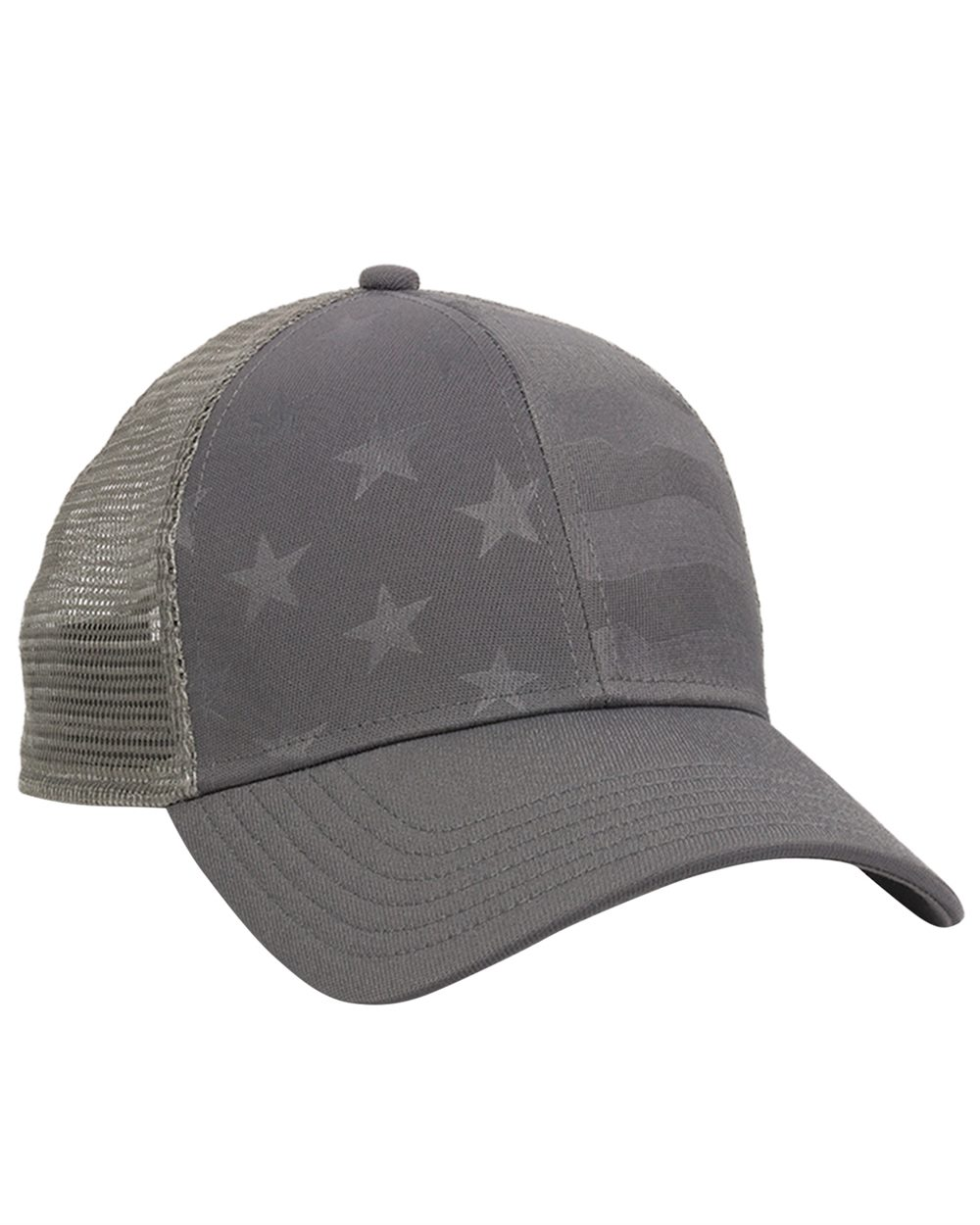 Outdoor Cap USA750M - Debossed Stars and Stripes with Mesh Back