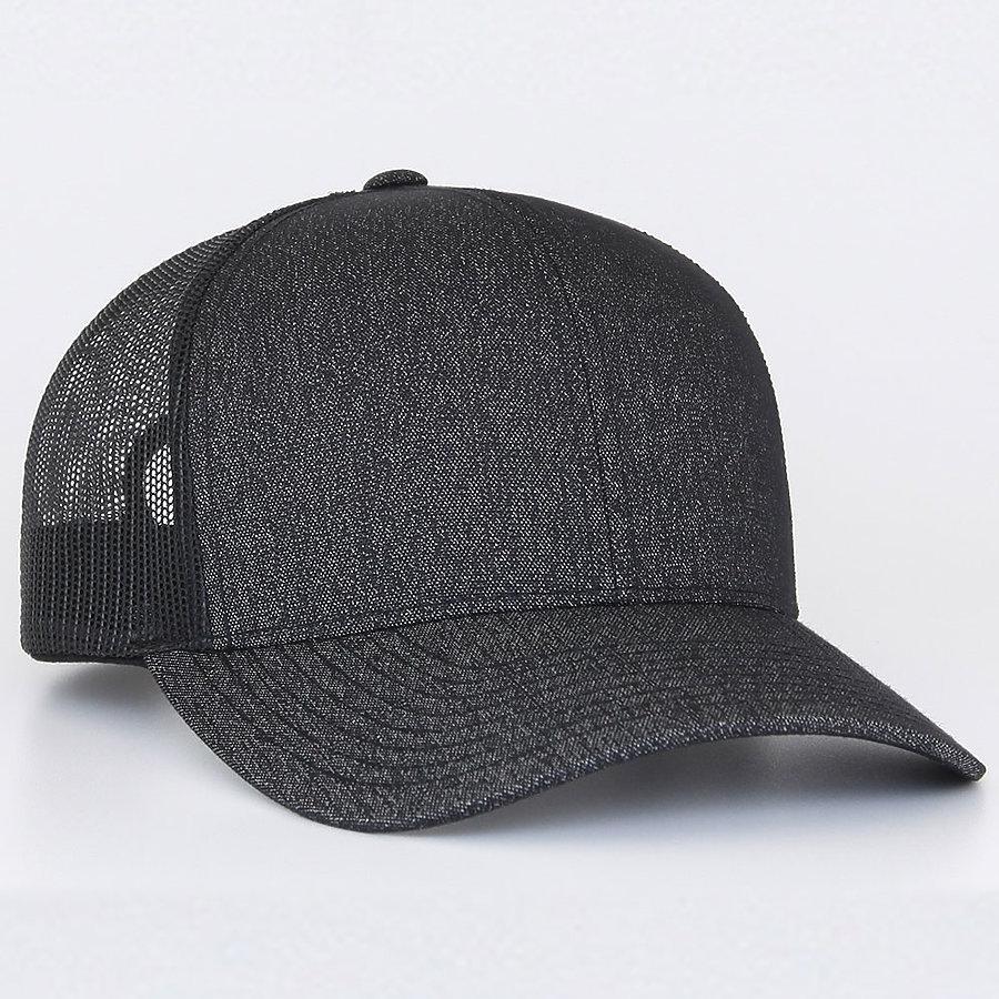 Pacific Headwear 110C - Heather Trucker Snapback Cap