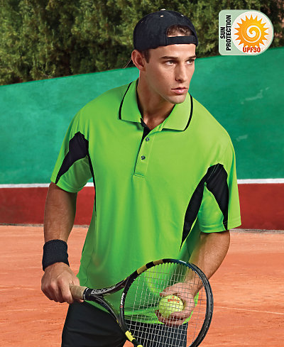 Paragon SM0111 - Adult Contrast Body and Sleeve Sport Shirt