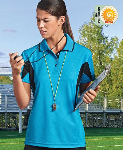 Paragon SM0112 - Ladies Contrast Body & Sleeve Sport Shirt