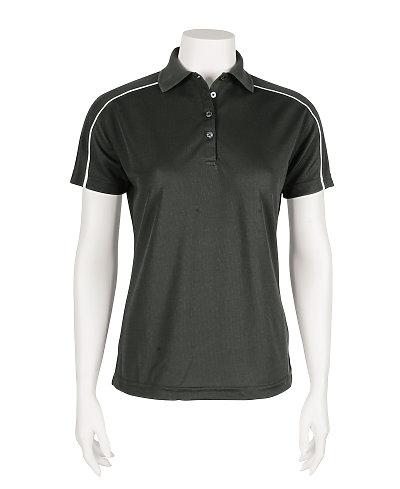 Paragon SM0114 - Ladies Mesh Shoulder Trim Sport Shirt