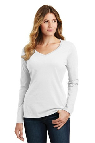 Port & Company LPC450VLS - Ladies Long Sleeve Fan Favorite ...