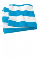 Port & Company® PT43 - Cabana Stripe Beach Towel