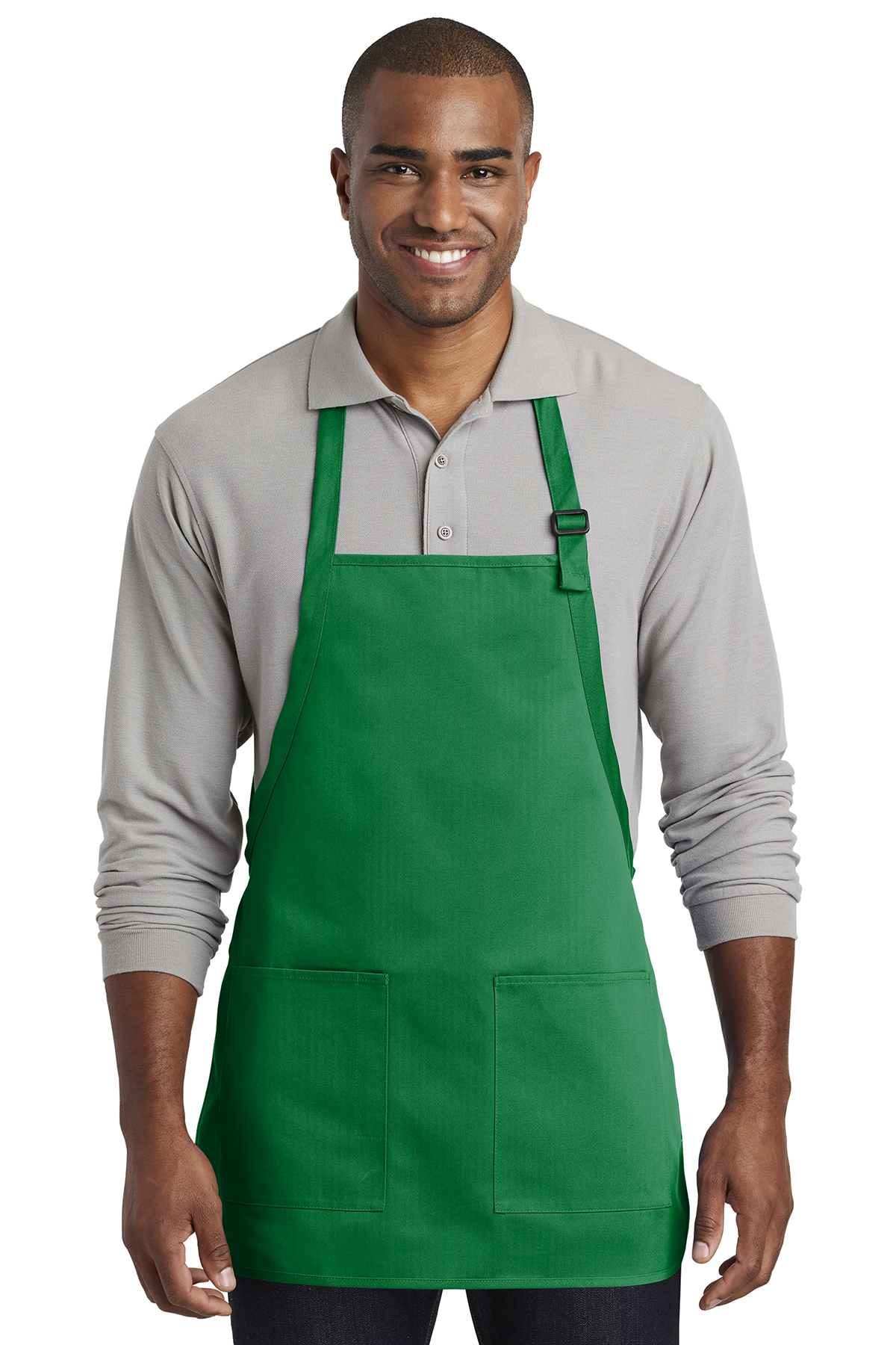 Port Authority A601 - Medium-Length Two-Pocket Bib Apron