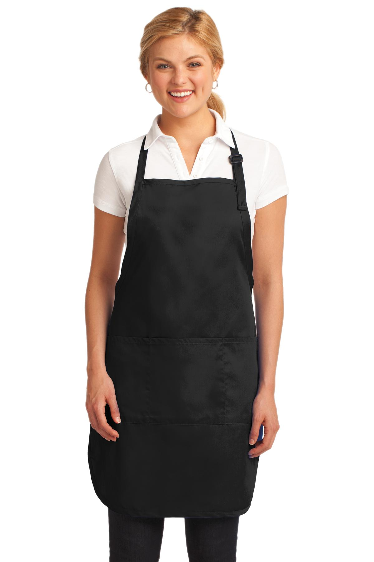Port Authority  A703 - Easy Care Full-Length Apron with ...