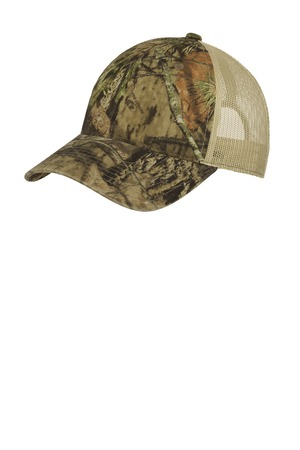 Port Authority® C929 - Unstructured Camouflage Mesh ...